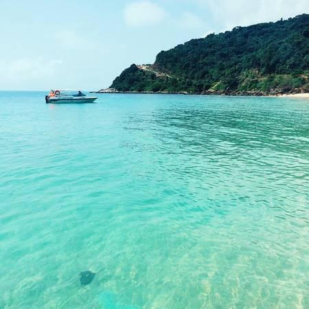 Description: Biển Cù Lao Chàm hoang sơ. Ảnh: quynhtrangqn/instagram