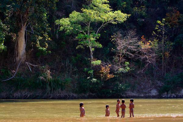 Dòng Serepok mang một ý nghĩa rất lớn trong đời sống người dân Đắk Lắk. Ảnh: Kien Trinh
