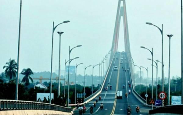 Cầu Rạch Miễu. Ảnh: Panoramio
