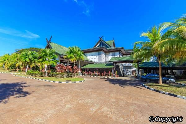 Bên trong Galeria Perdana có rất nhiều khu đáng để tham quan. Ảnh:Langkawi-info.com