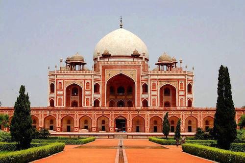 Lăng mộ Humayun – nguồn cảm hứng của Taj Mahal sau này. Ảnh: Indovacation.