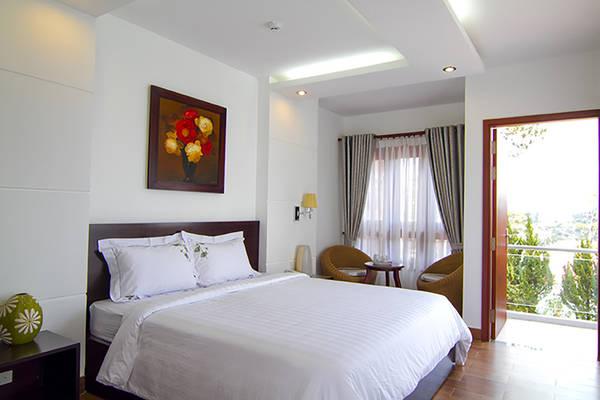 Khách sạn có nhiều dạng phòng cho du khách thỏa sức lựa chọn.