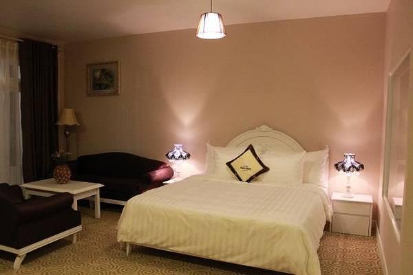 Phòng nghỉ ấm cúng. Ảnh: iVIVU.com