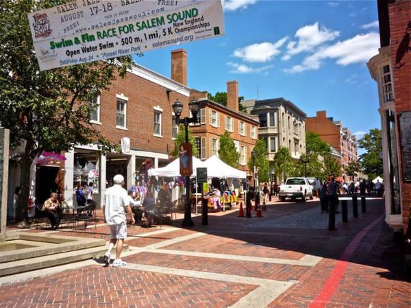 Khu trung tâm lịch sử ở Salem - Ảnh: visitingnewengland