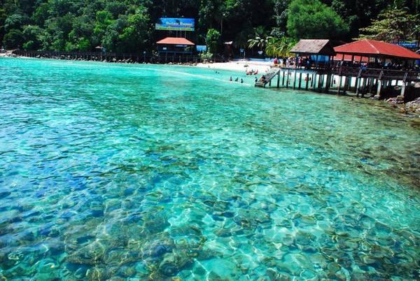 Công viên hải dương Pulau Payar. Ảnh: travelguide.easybook