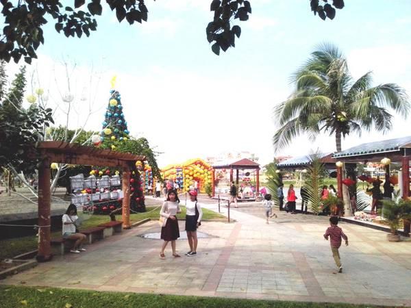 Vườn tượng An Hội - nơi diễn ra Liên hoan ẩm thực quốc tế Hội An 2016. Ảnh: hoian.gov