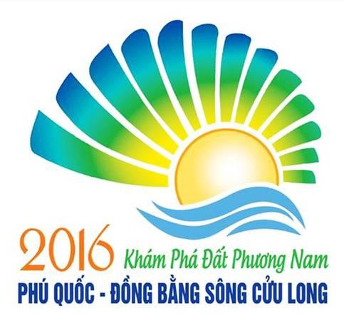 Logo chính thức của Năm Du Lịch Quốc Gia 2016. Ảnh: tuoitre