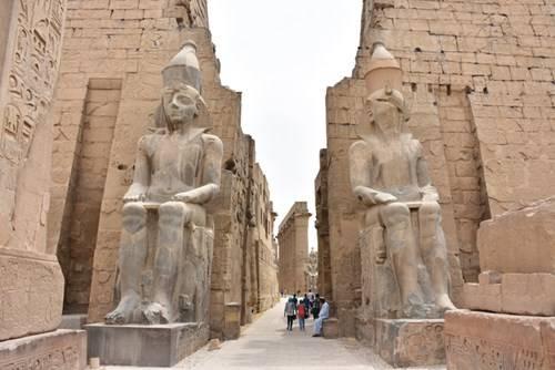 Kiến trúc Ai Cập cổ đại ở Luxor khiến nhiều người phải choáng ngợp