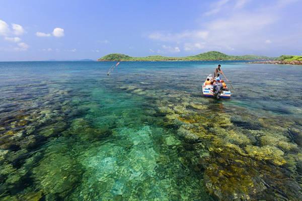 Đừng bỏ qua những màn ngắm san hô khi đến đây. Ảnh: Huỳnh Lê Tuấn.