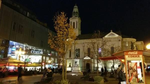 Zagreb đêm - Ảnh: Phong Nguyễn Lê