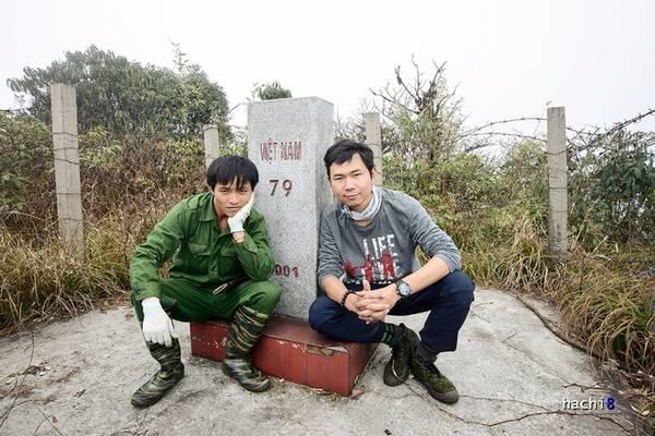 Description: Cột mốc 79 nằm sâu trong rừng già, trên núi cao. Với cao độ 2.880 m so với mực nước biển, đây là cột mốc biên giới cao nhất trên lãnh thổ Việt Nam.