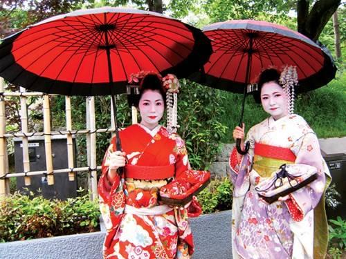 Trang phục của Geisha