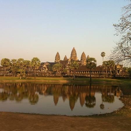 Angkor Wat, Campuchia