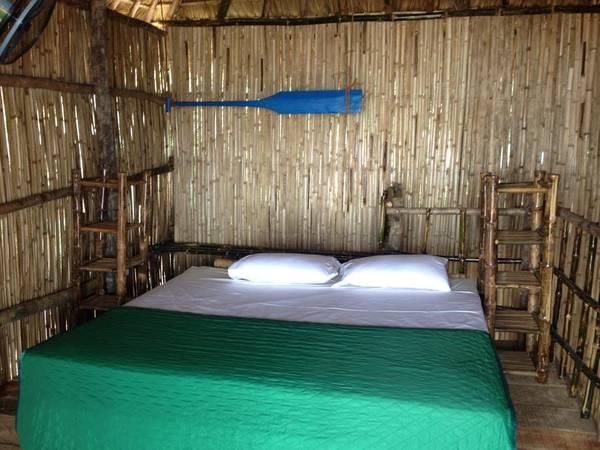 Phòng ngủ gần gũi với thiên nhiên.