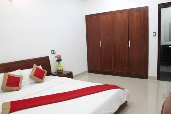 Phòng ngủ với nhiều không gian tạo cảm giác thoải mái