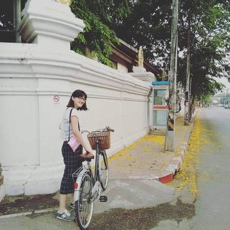 Xe đạp là phương tiện lý tưởng để khám phá Chiang Mai. Ảnh: camillejustinealizee