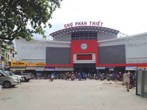 Chợ Phan Thiết mới. Ảnh: baobinhhuan