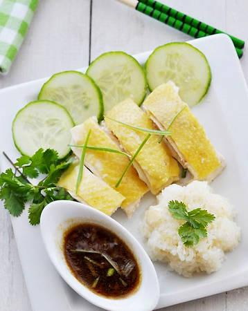 Cơm gà Hải Nam Sài Gòn. Ảnh: Amthucsaigon
