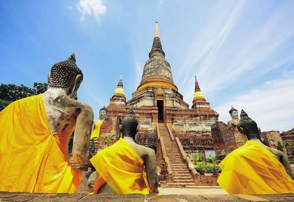 Những công trình kiến trúc độc đáo của Ayutthaya luôn khiến du khách thấy thích thú.Ảnh:cbstravelasia/instagram