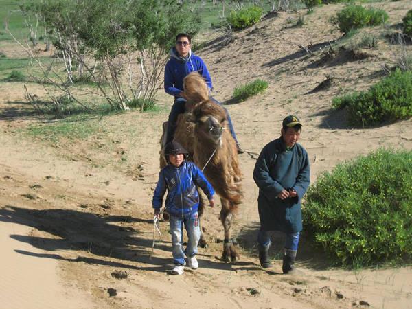 Sa mạc Gobi (Mông Cổ).