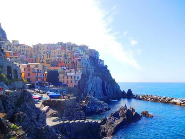 Cinque Terre nhìn toàn cảnh qua ống kính thầy giáo điển trai.