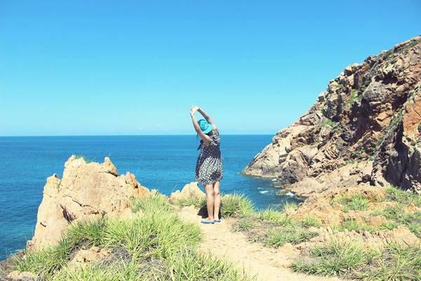 Thời gian đẹp để đến Hòn Khô là tháng 3 đến tháng 9.Ảnh: Cindy Gia & Goterest