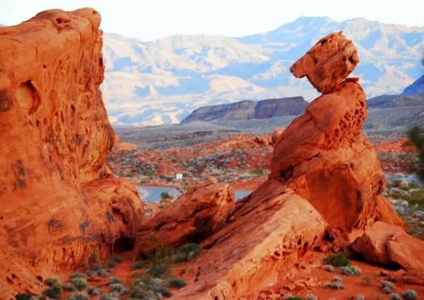 Công viên quốc gia Red Rock Canyon - Ảnh: west-usa-dream