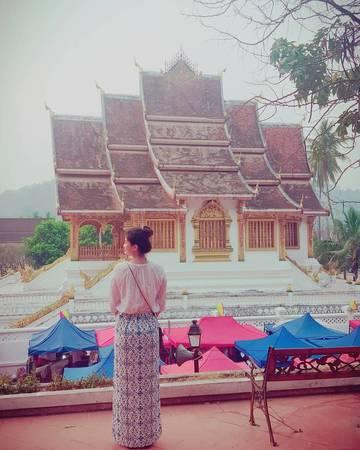 Luang Prabang mang vẻ đẹp vừa cổ kính vừa dịu dàng. Ảnh: jinhee__v