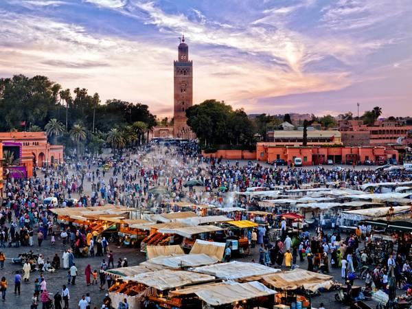Marrakesh, Morocco: Nên đặt phòng trước chuyến đi khoảng 4 tháng, bạn sẽ tiết kiệm được 28% tiền phòng khách sạn. Ảnh: Shutterstock