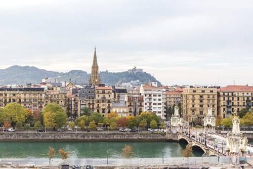 Thành phố San Sebastian xinh đẹp với lối kiến trúc hoa mỹ