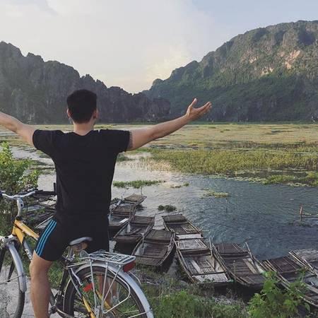 Ninh Bình sẽ là nơi mang đến cho bạn nhiều trải nghiệm thú vị. Ảnh: consulleo/instagram