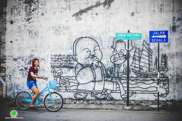 Nếu là một người thích yêu thích sự lắng đọng, thích lang thang qua những con phố cổ kính thì thành phố Penang của Malaysia là một điểm đến dành cho bạn. Ảnh:norestfortheweekends