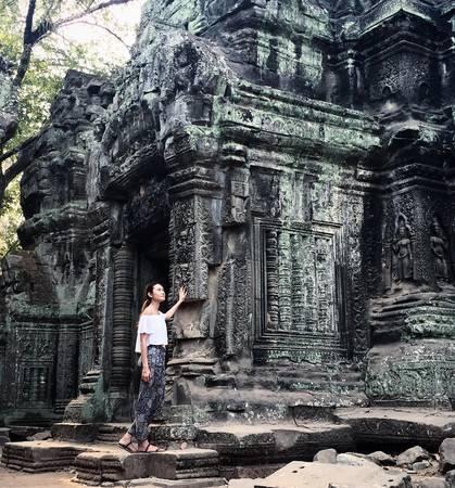 Siem Reap là thành phố thu hút nhiều du khách nhất ở Campuchia nhờ những ngôi đền Angkor hùng vĩ. Ảnh:cahyadirs