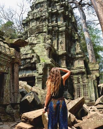 Rất nhiều du khách chọn Siem Reap làm điểm đến du lịch độc hành. Ảnh: are.we.lost
