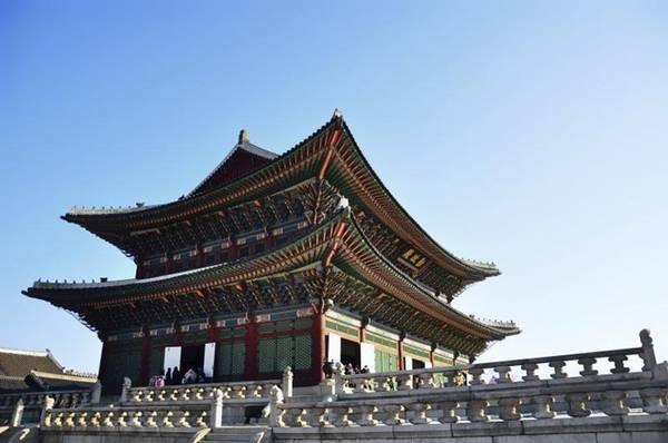 Cung điện Gyeongbok-gung sẽ đóng cửa vào thứ 3 hàng tuần.