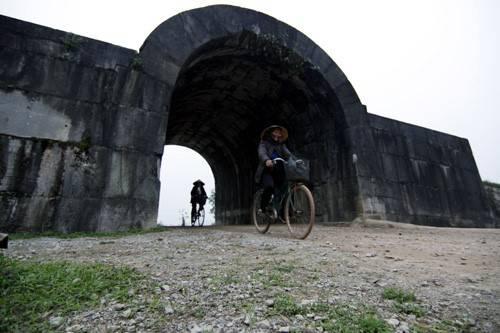 Công trình này được công nhận là di sản thế giới ở Việt Nam vào năm 2011. Ảnh: Lê Hiếu.