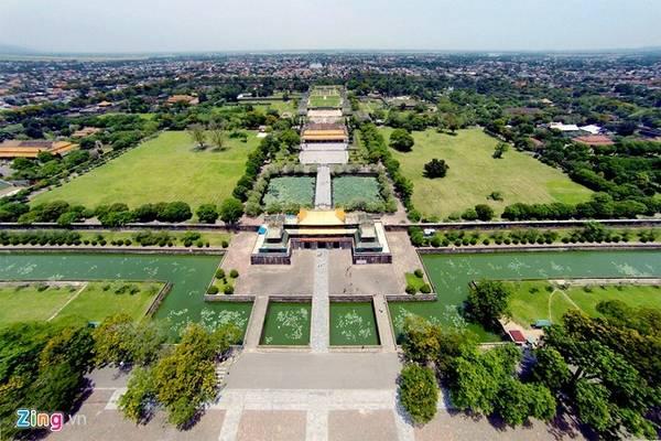 Trung tâm bảo tồn Di tích Cố đô Huế được UNESCO công nhận là di sản văn hoá thế giới vào ngày 11/12/1993. Ảnh: Mạnh Thắng.