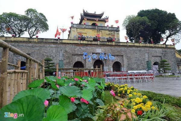 Hoàng Thành Thăng Long nơi gắn liền với lịch sử kinh thành Thăng Long xưa tọa lạc tại khu vực trung tâm của thủ đô Hà Nội được công nhận di sản văn hóa thế giới năm 2010. Ảnh: Anh Tuấn.