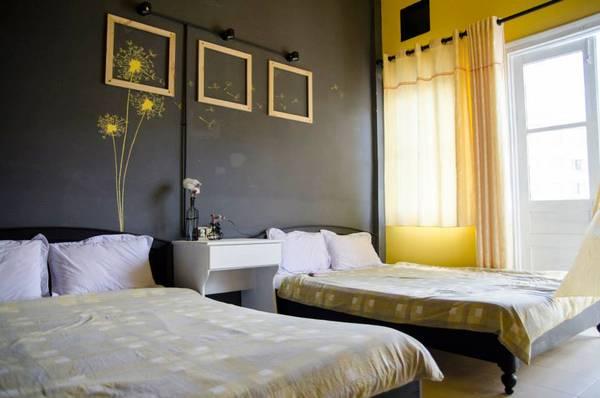 Phòng Gap Room, sự đối lập giữa 2 gam màu vàng và xám. Ảnh:Beepub