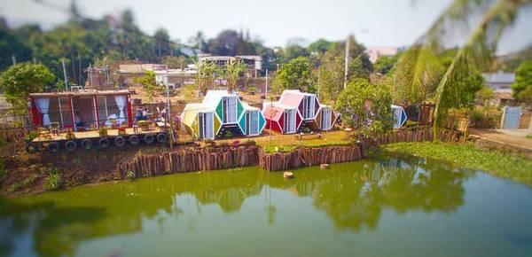 Đến với Beezone Hostel các bạn có thể thỏa thích niềm đam mê yêu thích không gian gần gũi với thiên nhiên.Ảnh: FBBeezone Hostel