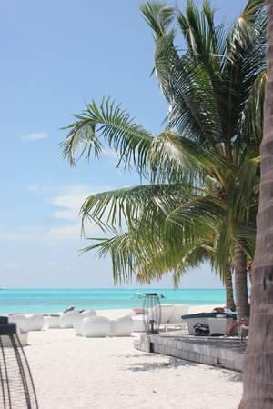 Biển xanh, cát trắng, nắng vàng. Ảnh: Linh Mạc