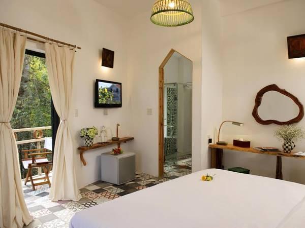 """Phòng nghỉ xinh đẹp khiến bạn """"yêu"""" ngay từ ánh nhìn đầu tiên."""