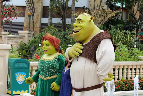 Các nhân vật trong phim hoạt hìnhShrek. Ảnh:insideuniversal