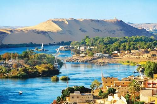 Sông Nile đoạn chảy qua Aswan