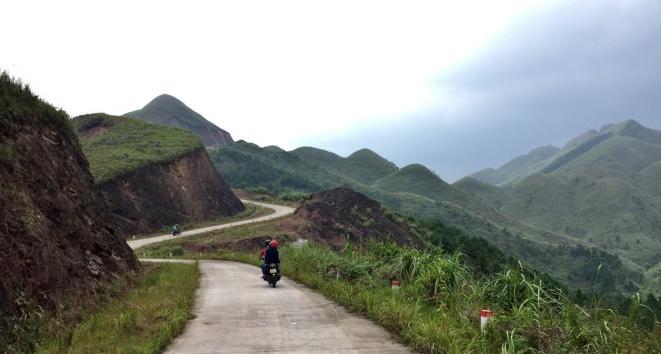 Đường tuần tra biên giới Bình Liêu. Ảnh: FB Binh Lieu Travel Guide