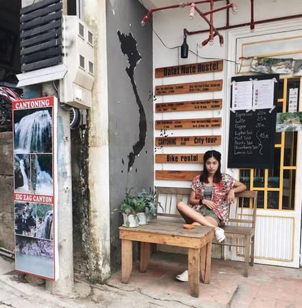 Đà Lạt Note Hostel tọa lạc tại địa chỉ 3r/2 Thông Thiên Học, phường 2, thành phố Đà Lạt.Ảnh:instagram pppringleee