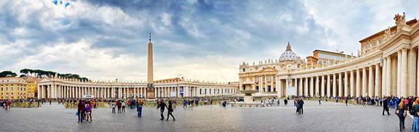 Quảng trường ở Vatican.