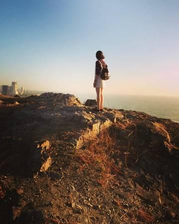 Đồi Con Heo điểm chụp hình có view siêu đẹp.