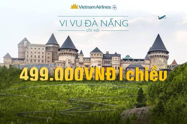 Bay cùng Vietnam Airlines với giá vô cùng tiết kiệm. Ảnh: VNA