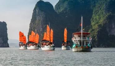L'Azalee Cruise Hạ Long khiến du khách ấn tượng ngay từ dáng vẻ bên ngoài